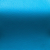 Light Blue Leatherette Background — Stock Photo