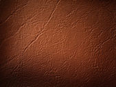 Brown Leatherette Background — Stock Photo
