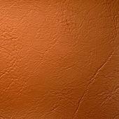 Orange Leatherette Background — Stock Photo