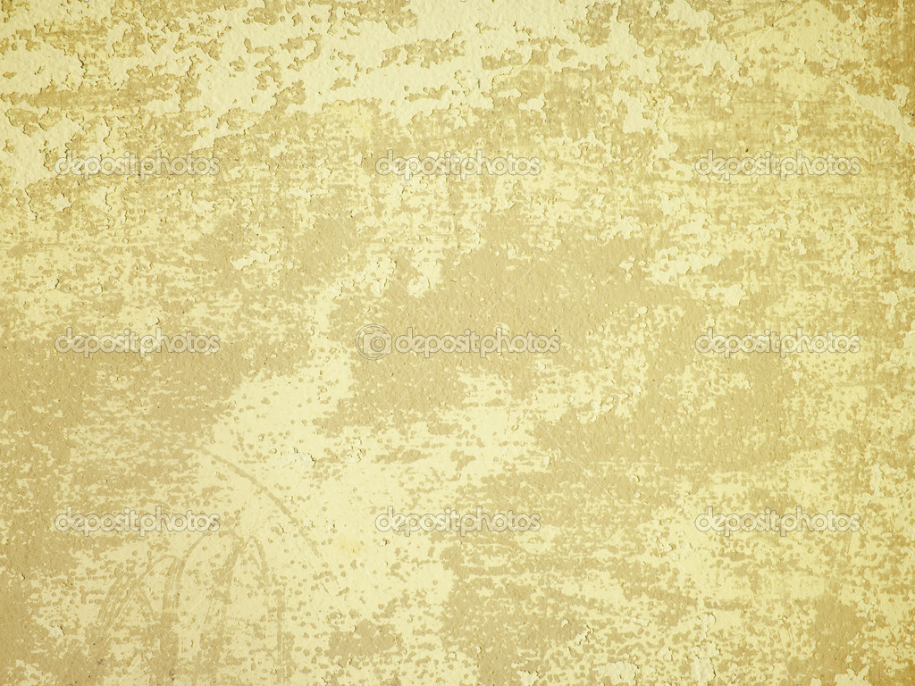 Light Yellow Old Wall Stock Photo Nuttakit 3794566
