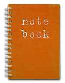 Red cover Note Book — Stock Photo