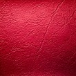 Stock Photo: Red Leatherette Background