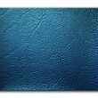 Dark blue Leatherette Background — Zdjęcie stockowe