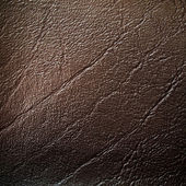 Dark brown Leatherette Background — Stock Photo