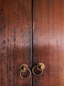 Porta de madeira velha — Foto Stock
