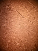 Light brown Leatherette Background — Stock Photo