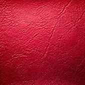 červené koženkové pozadí — Stock fotografie