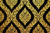 Thai art gold paiting pattern — Stok fotoğraf