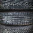 Old used tyre — Stock Photo