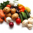 Fresh vegetables variety - Stock Photo
