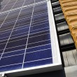 Solar panels on roof — Foto de stock #3267471