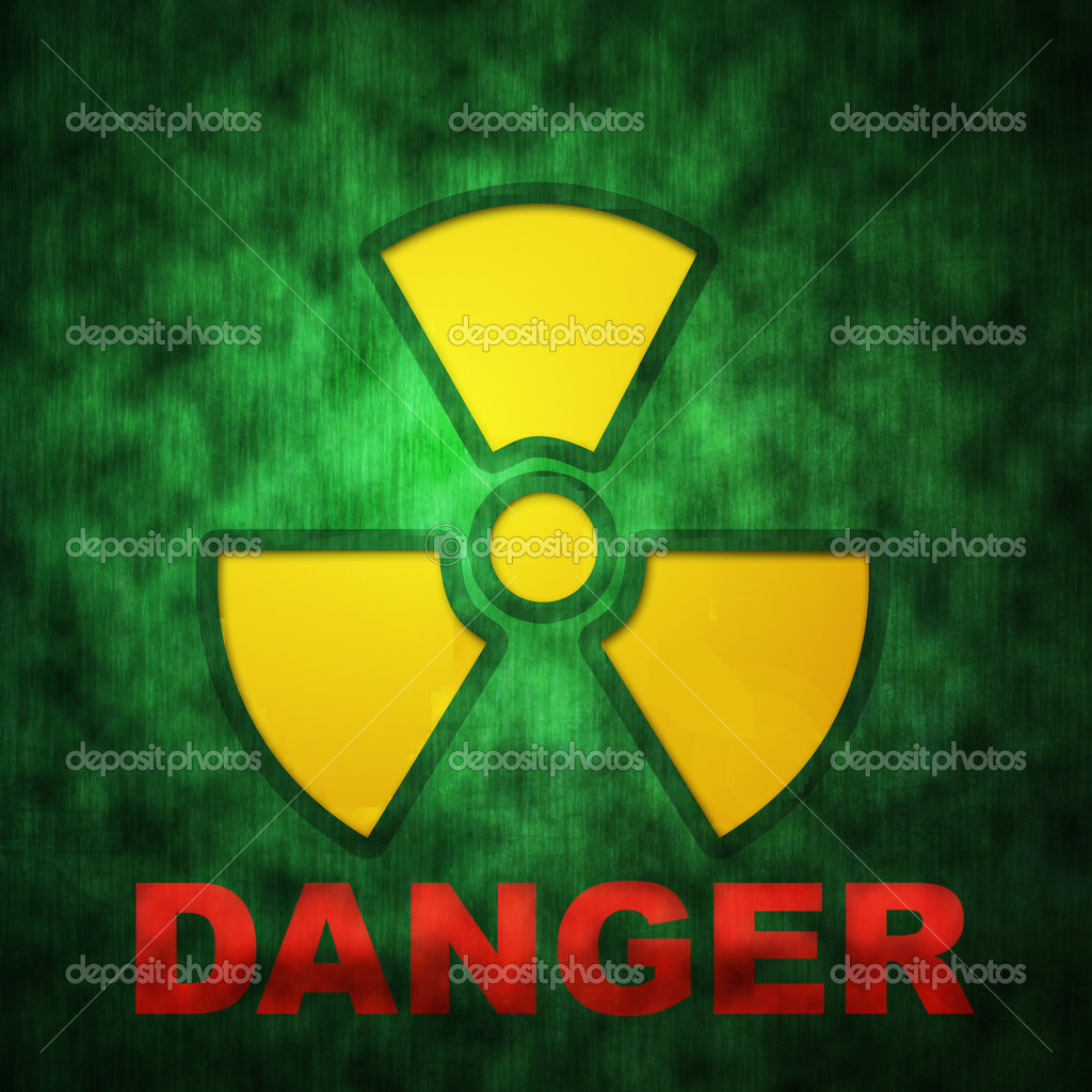 Danger nuclear zone — Stock Photo #3317115