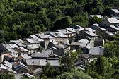 Skiffertak village — Stockfoto