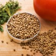 Seeds of coriander — Stock Photo #3202551
