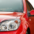 Red modern car — Stockfoto