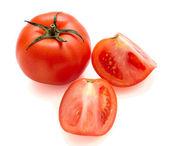Tomatoes isolated — Stock Photo