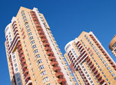 Tall residential building — Stock Photo