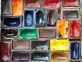 Pinturas de acuarela — Foto de Stock