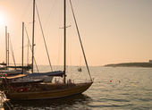 Marine yachts — Стоковое фото