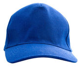 Blue baseball cap isolated — Stock Photo