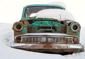 Old car is broken — Stock Photo