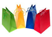 Shopping bags isolated — Foto de Stock