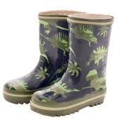 Children's rubber boots — Stock Photo