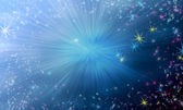 Magic star background — Stock Photo