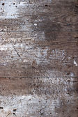 Old wooden painted surface — Stock Photo