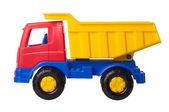 Toy truck isolated — Stock Photo