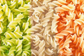 Fusilli close-up — Stock Photo