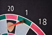 Darts target — Stock Photo