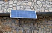 Photovoltaic panel — Stock Photo