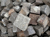 Porphyry cubes — Stock Photo