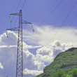 Electricity pylon — Stock Photo #3649624
