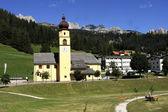 Tyrolean church — Stock Photo