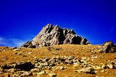 Dağlar bitki örtüsü olmadan — Stok fotoğraf