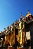 Tre stand buddha — Foto Stock