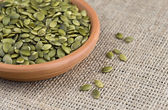 Pumpkin Seeds (Pepita) — Stock Photo