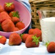 Strawberry Picnic — Stockfoto