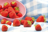 British Strawberries — Stock Photo