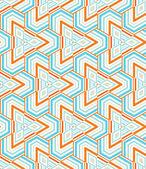 Triangular mosaic — Stock Vector