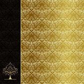 Golden cover — Stock Vector
