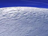 Plain blue winter — Stockfoto