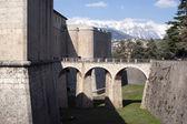 Old italian castle — Stock Photo