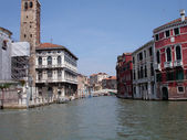 Venice water street — Stock Photo