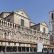 Stock Photo: Dome of ferrara