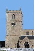 Kostelní věž — Stock fotografie