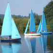 River Sailing — Stock Photo
