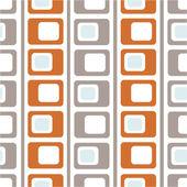 Naadloze vierkante patroon — Stockvector